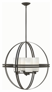 Hinkley 3275BZ Atrium Modern Bronze Finish 26.75  Tall Chandelier Lamp