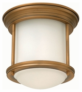 Hinkley 3300BR Hadley Brushed Bronze Finish 7.75  Wide LED Ceiling Light Fixture