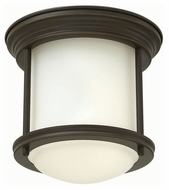 Hinkley 3300OZ Hadley Oil Rubbed Bronze Finish 7.75  Wide LED Flush Mount Lighting