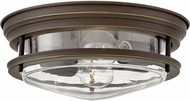 Hinkley 3302OZ-CL Hadley Modern Oil Rubbed Bronze Ceiling Light