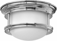 Hinkley 3308CM-QF Hadley Chrome LED Flush Mount Ceiling Light Fixture