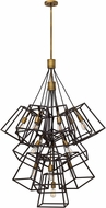 Hinkley 3358BZ Fulton Bronze Multi Hanging Pendant Light
