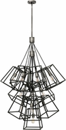Hinkley 3358DZ Fulton Aged Zinc Multi Pendant Hanging Light