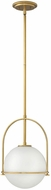 Hinkley 3407HB Somerset Modern Heritage Brass Mini Drop Lighting
