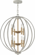 Hinkley 3468CG Euclid Modern Cement Gray Foyer Light Fixture