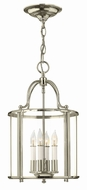 Hinkley 3474PN Gentry Polished Nickel Foyer Light Fixture