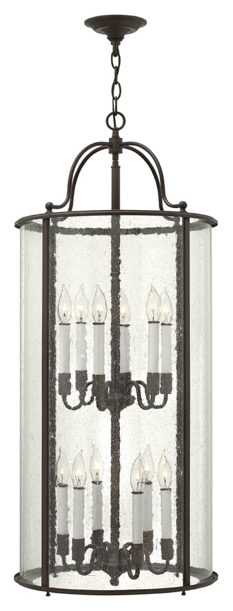 Tall Foyer Lighting : Hinkley ob gentry large olde bronze candle entryway