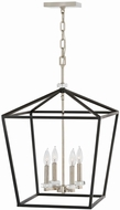 Hinkley 3536BK Stinson Black Foyer Lighting Fixture