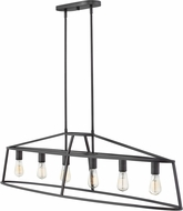 Hinkley 3776GZ Middleton Contemporary Graphite Bronze Kitchen Island Light Fixture