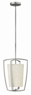 Hinkley 3797BN Blakely Modern Brushed Nickel Foyer Lighting Fixture