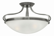 Hinkley 3831PL Paxton Polished Antique Nickel Overhead Light Fixture