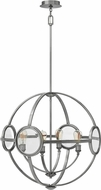 Hinkley 3924PL Fulham Contemporary Polished Antique Nickel Hanging Pendant Lighting