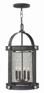 Hinkley 3942DZ Holden Aged Zinc Foyer Lighting Fixture