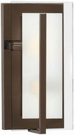 Hinkley 3992OZ Latitude Contemporary Oil Rubbed Bronze Wall Light Sconce