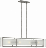 Hinkley 3996BN Latitude Modern Brushed Nickel Island Lighting