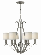 Hinkley 4186BN Clara Brushed Nickel Chandelier Light