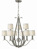 Hinkley 4188BN Clara Brushed Nickel Ceiling Chandelier