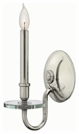 Hinkley 4200PN Everly Polished Nickel Finish 12.25  Tall Wall Light Sconce