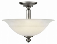 Hinkley 4242PL Plymouth Polished Antique Nickel Overhead Light Fixture