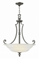 Hinkley 4244PL Plymouth Polished Antique Nickel Drop Lighting