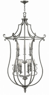 Hinkley 4259PL Plymouth Polished Antique Nickel Entryway Light Fixture