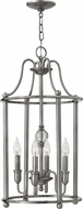Hinkley 4354PL Elaine Polished Antique Nickel Entryway Light Fixture