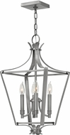 Hinkley 4493PL Fleming Polished Antique Nickel Foyer Lighting Fixture