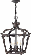 Hinkley 4526AI Sorrento Traditional Aged Iron Foyer Lighting