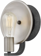 Hinkley 4530DZ Boyer Contemporary Aged Zinc Wall Sconce Lighting