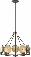 Hinkley 4535OZ Boyer Contemporary Oil Rubbed Bronze Ceiling Chandelier