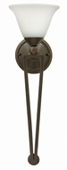 Hinkley 4671OB-OPAL Bolla Olde Bronze Wall Light Sconce
