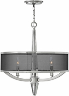 Hinkley 4753PN Ascher Polished Nickel Foyer Light Fixture