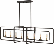 Hinkley 4818KZ Quentin Modern Buckeye Bronze Kitchen Island Light Fixture