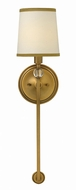 Hinkley 4872BR Morgan Brushed Bronze Wall Lamp