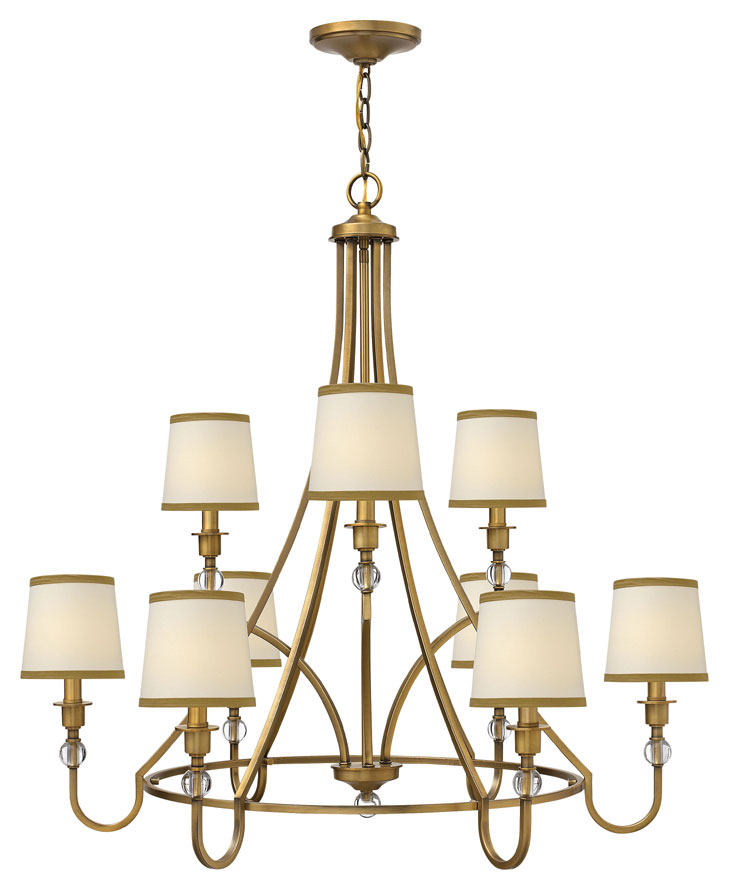 Hinkley 4878br morgan large transitional 35 inch diameter ceiling hinkley 4878br morgan large transitional 35 inch diameter ceiling chandelier loading zoom aloadofball Choice Image
