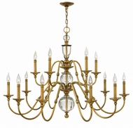 Hinkley 4959HB Eleanor Heritage Brass Chandelier Light