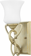 Hinkley 5000SL Brooke Silver Leaf LED Wall Sconce Lighting