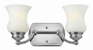 Hinkley 50012CM Constance Chrome 2-Light Bathroom Lighting
