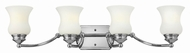 Hinkley 50014CM Constance Chrome 4-Light Bath Lighting