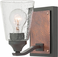 Hinkley 51820KZ Jackson Modern Buckeye Bronze Wall Mounted Lamp