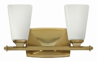 Hinkley 53012BC Darby Brushed Caramel 2-Light Bath Sconce