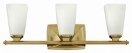 Hinkley 53013BC Darby Brushed Caramel 3-Light Vanity Lighting Fixture