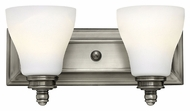 Hinkley 53582AN Claire Transitional 2 Lamp 14 Inch Wide Bathroom Lighting