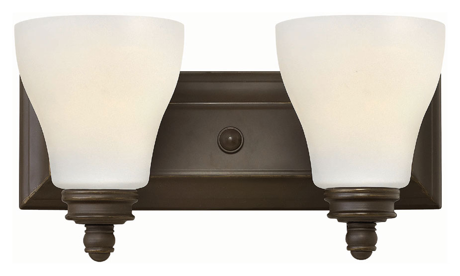 Hinkley Bathroom Wall Sconces : Hinkley 53582OZ Claire Oil Rubbed Bronze Finish 14