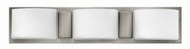 Hinkley 55483BN Daria Brushed Nickel Halogen 3-Light Bathroom Light Fixture