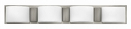 Hinkley 55484BN Daria Brushed Nickel Halogen 4-Light Bathroom Vanity Lighting