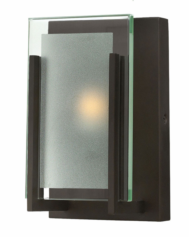 Hinkley 5650OZ Latitude Modern Oil Rubbed Bronze Wall Sconce. Loading Zoom