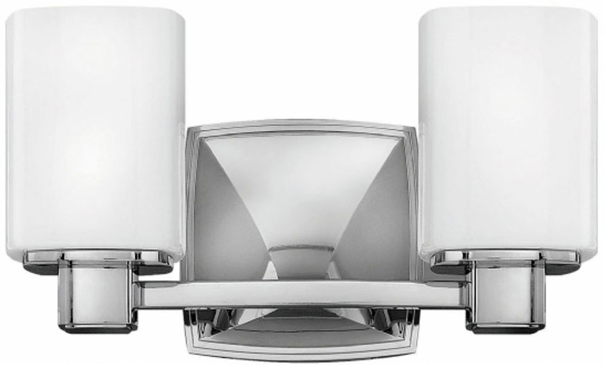Hinkley Bathroom Wall Sconces : Hinkley 57132CM Tessa Chrome 2-Light Bath Wall Sconce - HIN-57132CM