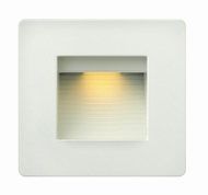 Hinkley 58506SW Luna Contemporary Satin White LED Exterior Lamp Sconce