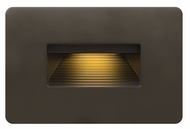 Hinkley 58508BZ LED Step Contemporary Bronze Finish 3 Wide LED Exterior Wall Lighting Sconce